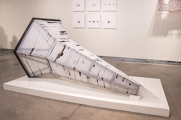 "Seth Clark and Jason Forck's ""Glass Spire"" - PHOTO COURTESY OF SETH CLARK"