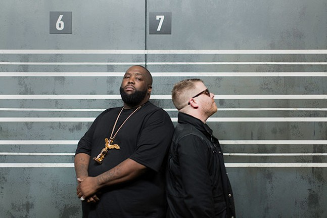 Run The Jewels - PHOTO COURTESY OF TODD WESTPHAL