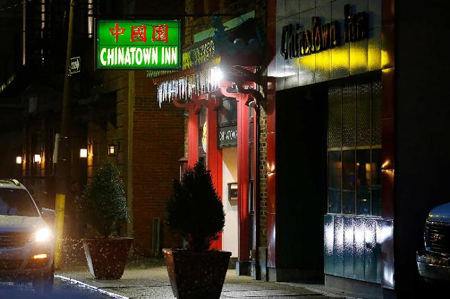 Chinatown Inn on Third Avenue in Pittsburgh's Chinatown - CP PHOTO: JARED WICKERHAM