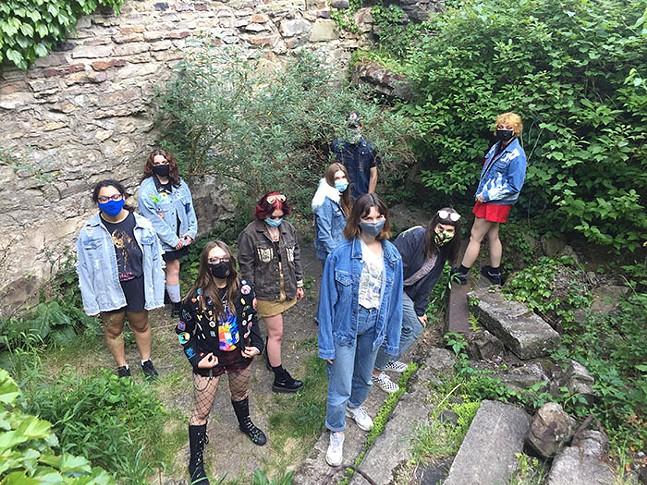 Mattress Factory's Teen Summer Workshops - PHOTO: COURTESY OF MATTRESS FACTORY