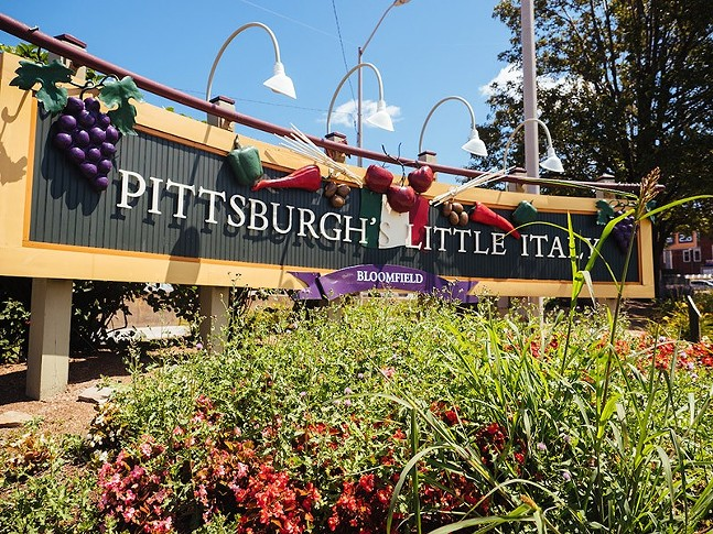 The Little Italy sign in Bloomfield - CP PHOTO: JARED MURPHY