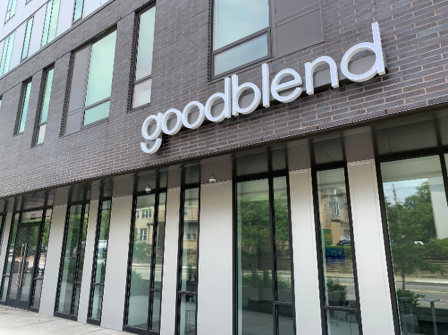 Goodblend's medical marijuana dispensary in Pittsburgh's Friendship District - PHOTO: PROMOTED BY GOODBLEND