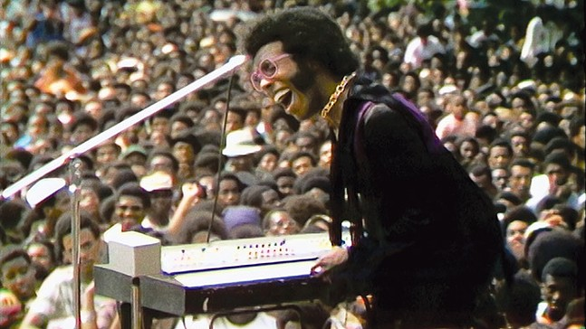 Sly Stone in Summer Of Soul, playing at Tull Family Theater - PHOTO: COURTESY OF SEARCHLIGHT PICTURES
