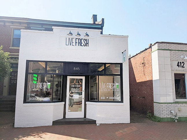 Live Fresh's new location on Western Avenue in Pittsburgh's North Side - CP PHOTO: LISA CUNNINGHAM