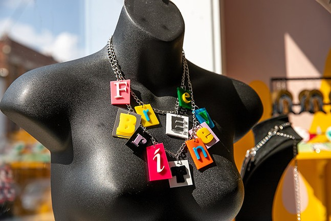 Electric Cat Jewelry on display at Boheme in Lawrenceville - CP PHOTO: KAYCEE ORWIG