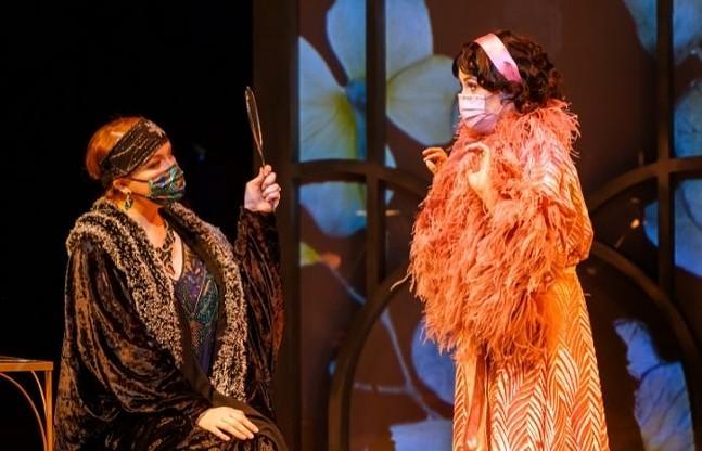 Pittsburgh Opera gives a Roaring Twenties spin to Handel's 1743 opera Semele - PHOTO: DAVID BACHMAN PHOTOGRAPHY