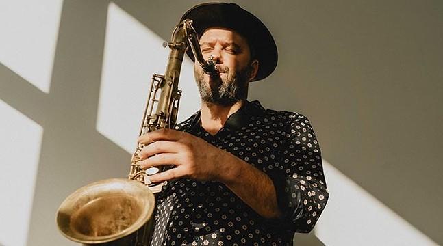 Jure Pukl, part of Jazz Poetry Month 2021 - PHOTO: ALJOŠA VIDETIČ