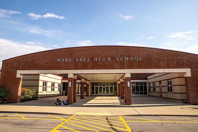 Mars Area High School - CP PHOTO: KAYCEE ORWIG