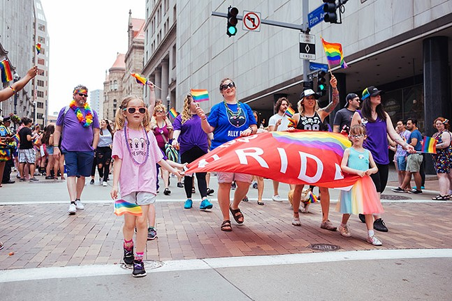 Delta Foundation's Pittsburgh Pride Equality March in 2019 - CP PHOTO: JARED MURPHY