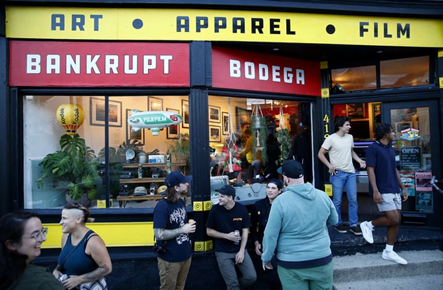 Proper Nouns, a photography show by Justin Boyd, takes place at Bankrupt Bodega in Bloomfield. - CP PHOTO: JARED WICKERHAM