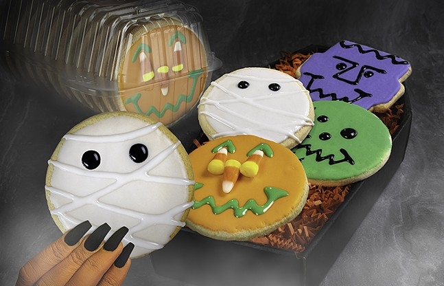 The Monster Mash Smiley Cookie pack from Eat'n Park - PHOTO COURTESY OF EAT'N PARK