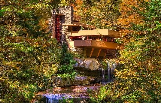 Frank Lloyd Wright's Fallingwater - COURTESY OF GO LAUREL HIGHLANDS