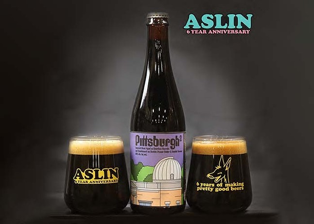 Aslin's Pittsburgh-inspired beer - PHOTO: COURTESY ASLIN BEER COMPANY