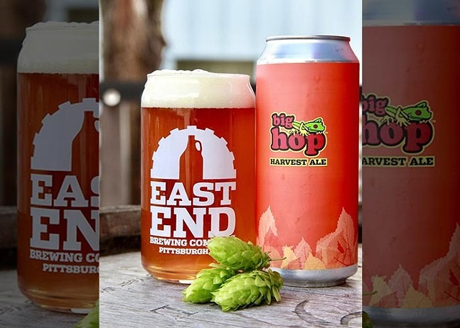 Big Hop Harvest Ale - PHOTO COURTESY OF EAST END BREWING CO.