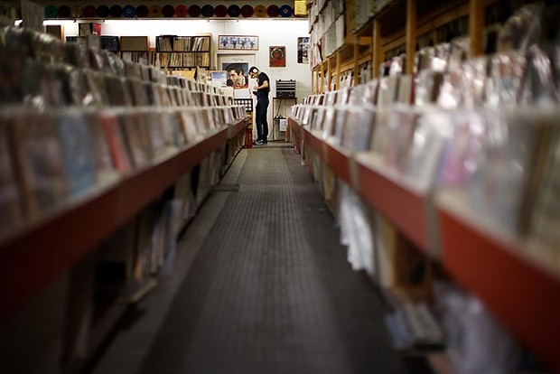 Jerry's Records - CP PHOTO: JARED WICKERHAM