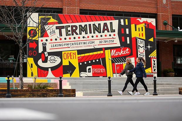Strip District Terminal - CP PHOTO: JARED WICKERHAM