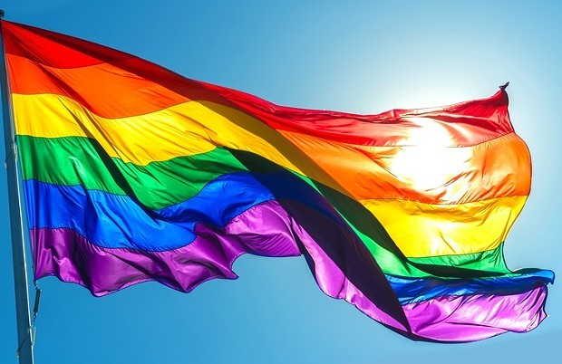 The LGBTQ flag
