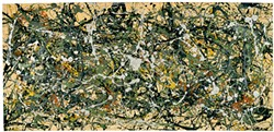 "Jackson Pollock's ""Number 8, 1949."" - Collection Neuberger Museum of Art - PHOTO BY JIM FRANK, COURTESY OF AMERICAN FEDERATION OF ARTS"