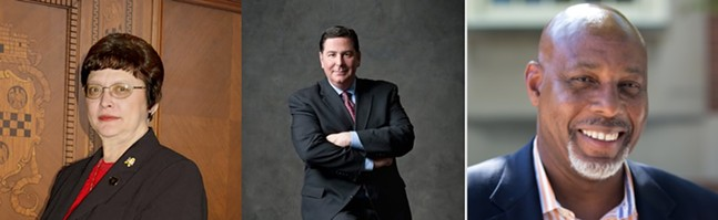Darlene Harris (left), Bill Peduto (center), John Welch (right) - PHOTOS COURTESY OF THE CANDIDATES