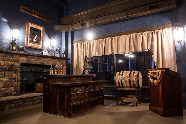 The tasting room at Mingo Creek Craft Distillers - PHOTO COURTESY OF JES STOCKHAUSEN