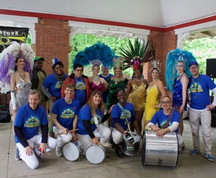 Timbeleza dancers and drummers - CP PHOTO BY KRISTA JOHNSON