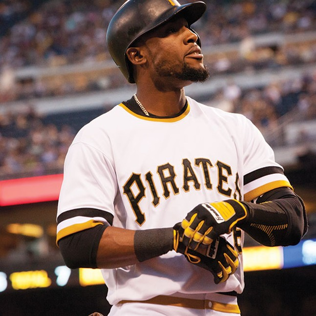 Starling Marte - CP FILE PHOTO