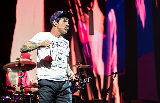 Anthony Kiedis - CP PHOTO BY LUKE THOR TRAVIS