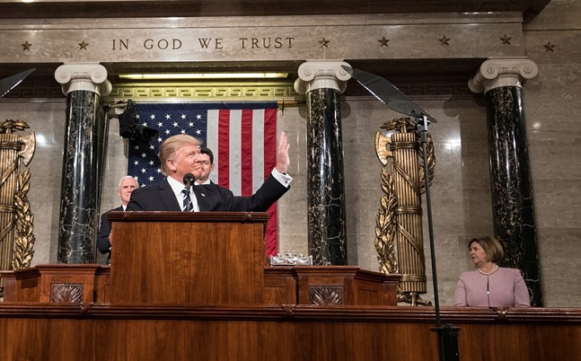 President Donald Trump - WHITE HOUSE PRESS PHOTO