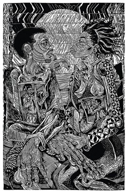 Communal Resurrection: The Soul of a Community, through June 18 at 707 and 709 Penn - ART BY STEVE PRINCE