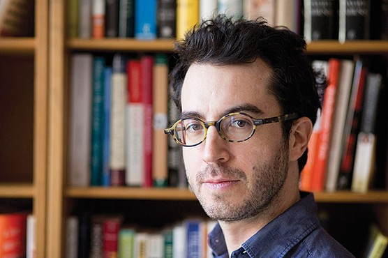 Jonathan Safran Foer, June 9 at Pittsburgh Arts & Lectures - PHOTO COURTESY OF JEFF MERMELSTEIN