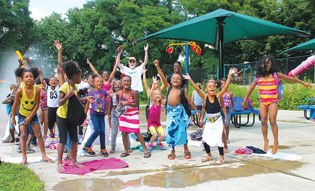 Citiparks Spray Parks, June 13-Labor Day - PHOTO COURTESY OF CITIPARKS