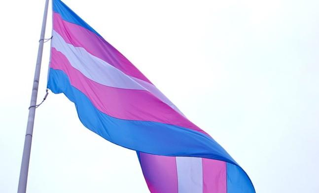 The transgender flag - PHOTO COURTESY WIKI COMMONS