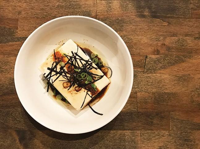 Killer tofu - PHOTO COURTESY OF BROOKS CRISWELL