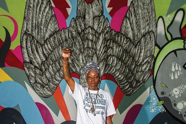 Blak Rapp Madusa plays Ladyfest on Sat., June 24. - CP PHOTO BY ERIC CASH