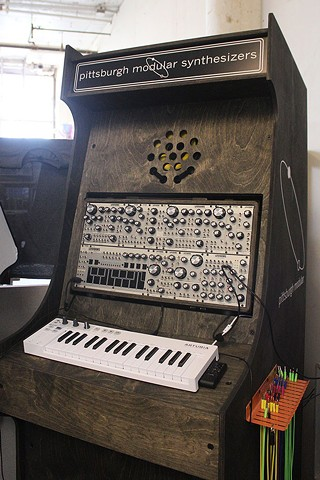 A Pittsburgh Modular Synth Playground synthesizer - CP PHOTO BY KRISTA JOHNSON