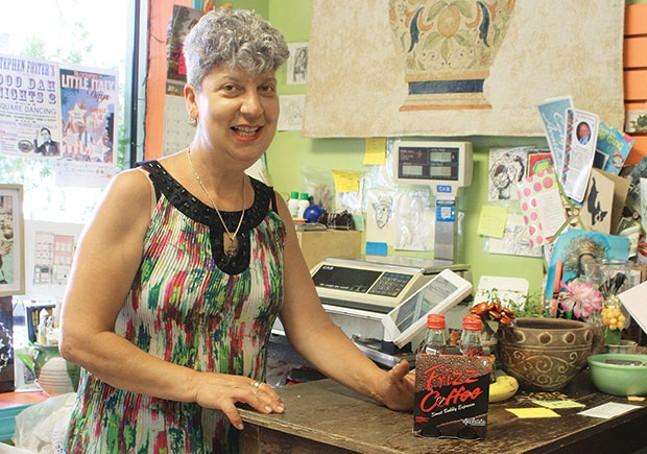 Gina Merante, at Linea Verde - CP PHOTO BY KRISTA JOHNSON