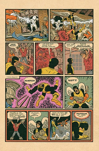 "A page from ""The Grand Design"" - ART BY ED PISKOR"