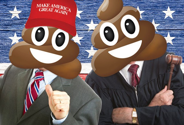 From local judges to the President of the United States, we show you who needs to clean up their act