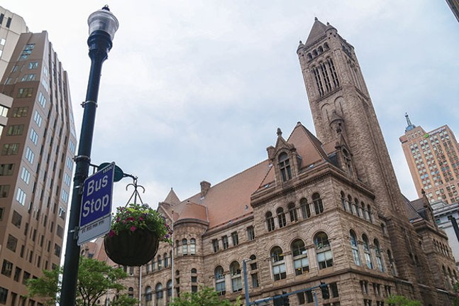The Allegheny County Courthouse - CP PHOTO BY MIKE SCHWARZ