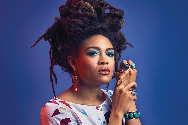 Valerie June - CREDIT: JACOB BLICKENSTAFF