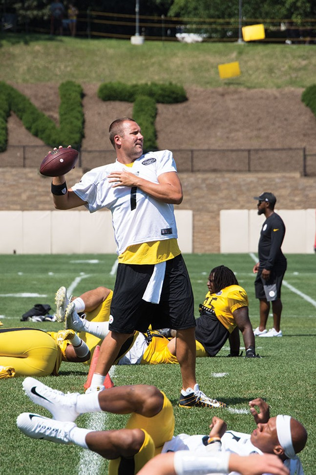 Ben Roethlisberger - CP PHOTO BY JAKE MYSLINCZYK