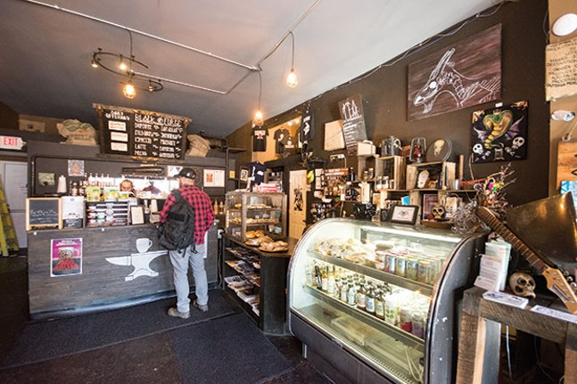 Black Forge Coffee House, winner of Best Coffeehouse - CP PHOTO BY JAKE MYSLIWCZYK