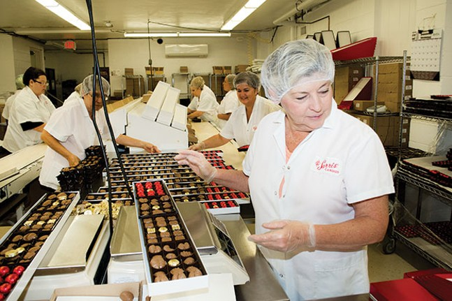 Behind the scenes at Sarris Candies, winner of Best Candy Store - CP PHOTO BY JAKE MYSLIWCZYK