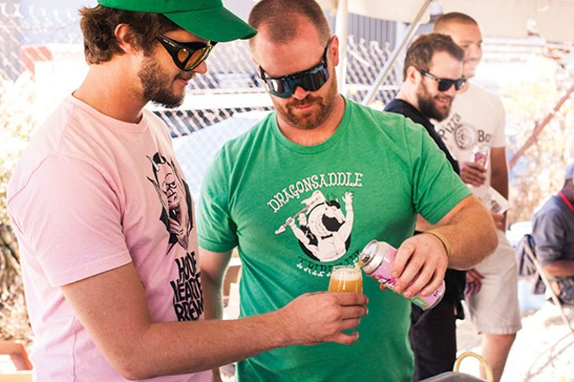 Juicy Brews Beer Festival in Sharpsburg - PHOTO BY BEN PRATT, COURTESY OF HOP CULTURE MAGAZINE