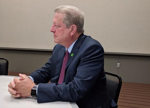 Al Gore - CP PHOTO BY REBECCA ADDISON