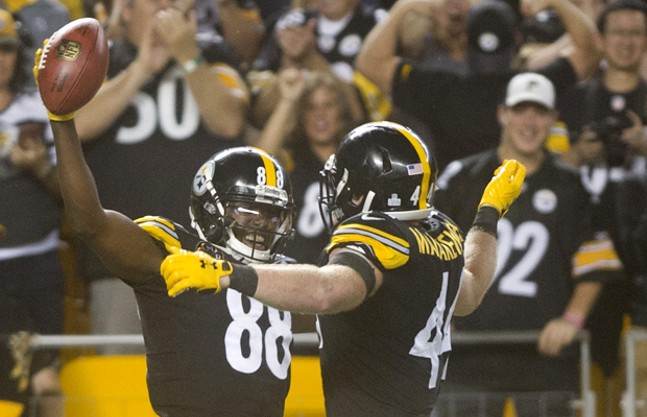 Pittsburgh Steelers at Heinz Field on Sun., Oct. 22. - CP PHOTOS BY VINCENT PUGLIESE