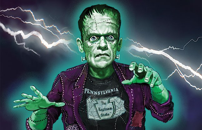 Can anyone stop Frankendistrict before he wreaks havoc on the 2018 midterm elections? - CP ILLUSTRATION BY FRANK HARRIS