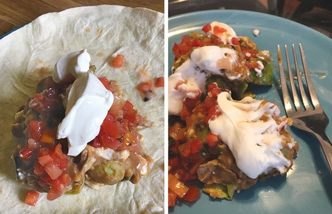 Tortilla optional: Best-at-Home Burrito - PHOTOS COURTESY OF KELLY ANDREWS