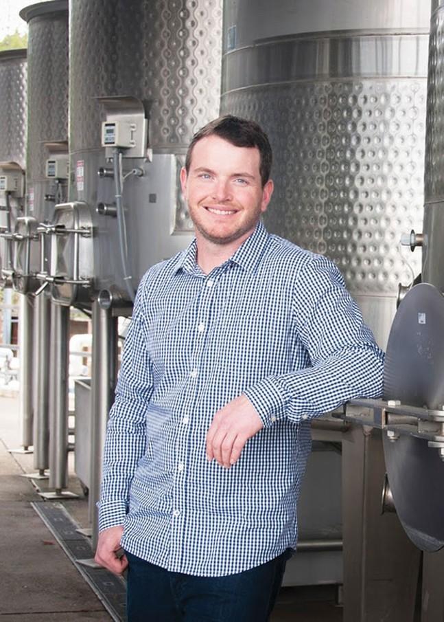 Head winemaker Pete Soergel - PHOTO COURTESY OF PETE SOERGEL
