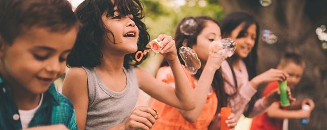 Children at a Hello Neighbor event - PHOTO COURTESY OF HELLO NEIGHBOR